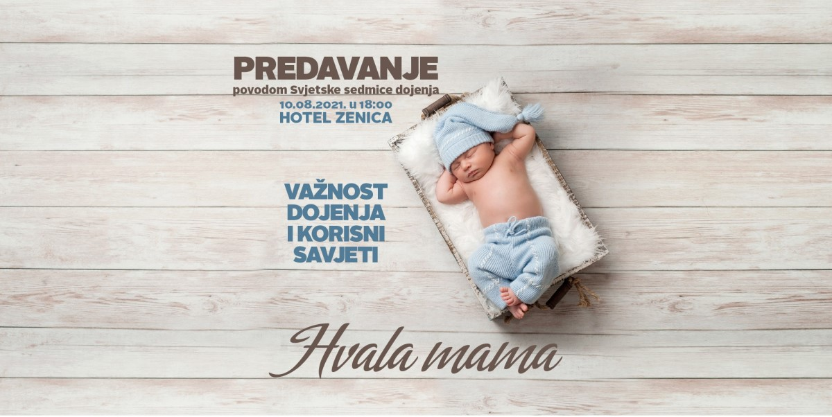 U Zenici sutra interaktivno predavanje o značaju majčinskog dojenja beba