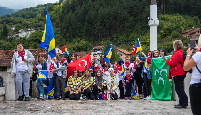 """Korisnici usluga Servis centra """"DLAN"""" Zenica u posjeti Hercegovini (FOTO)"""