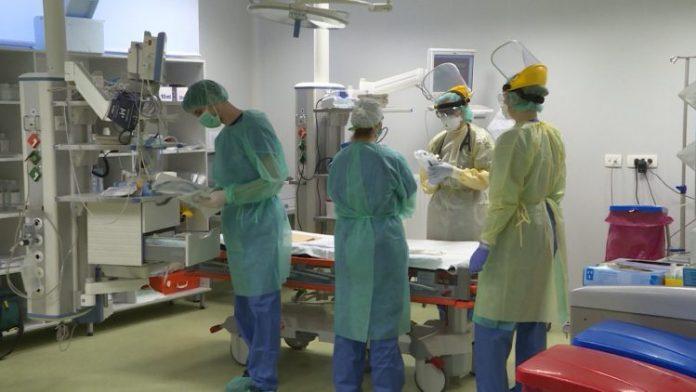 Bolnica Pacijenti Koronavirus Covid