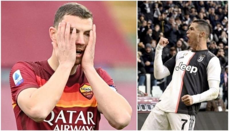 Cristiano Ronaldo glavni krivac što Edin Džeko nije došao u Juventus