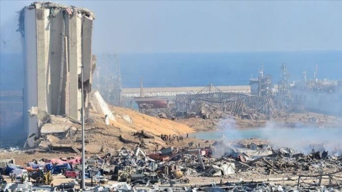 Liban Bejrut Katastrofa Anadolija