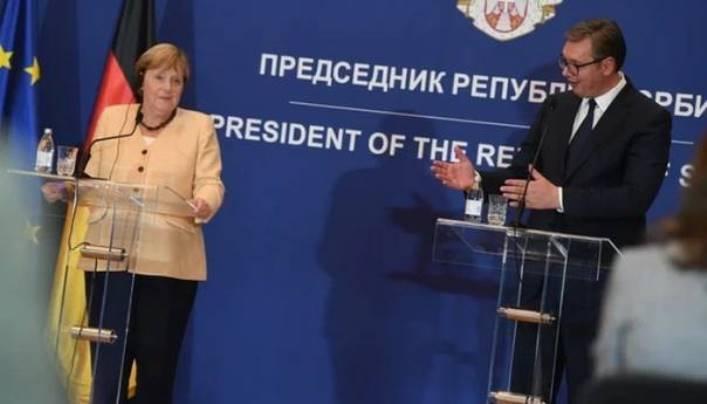 Merkel nahvalila Vučića: Čovjek koji ne daje lažna obećanja