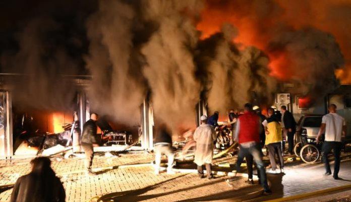 Požar Tetovo