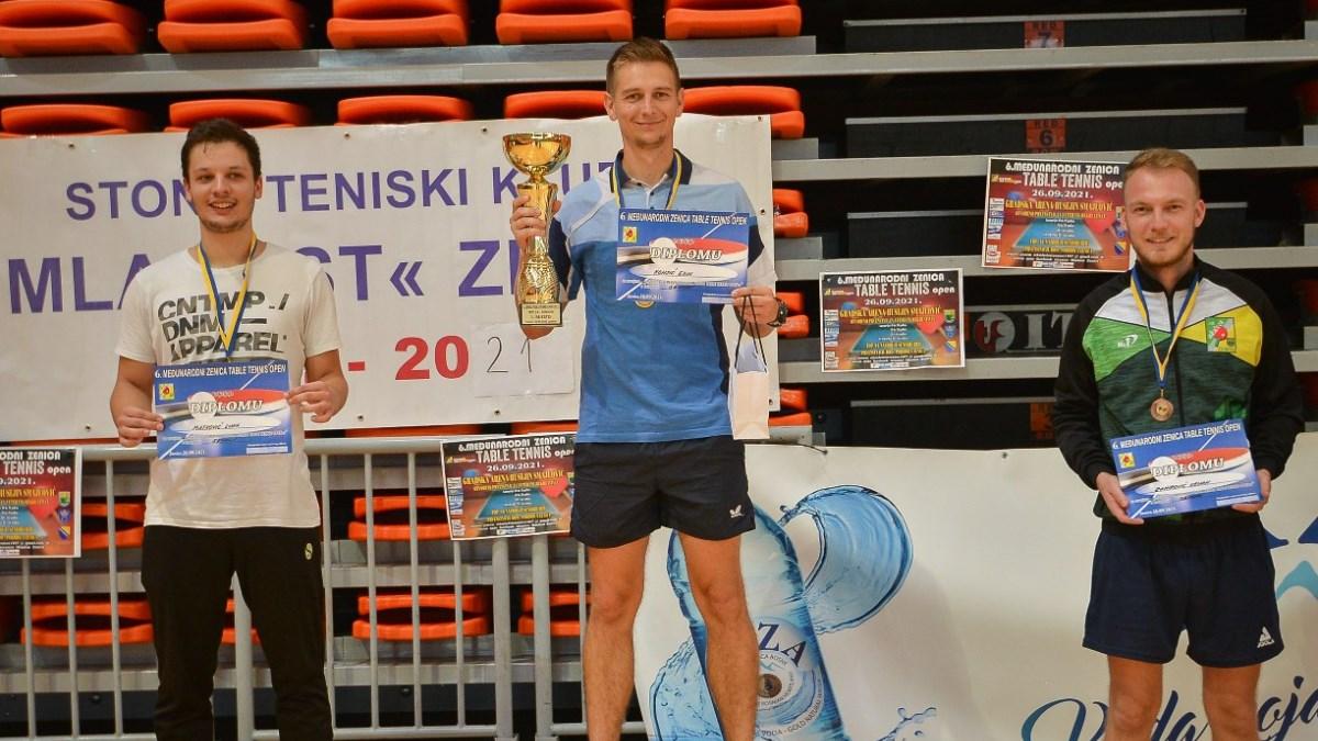 Završen 6. međunarodni Zenica table tennis Open 2021 (FOTO)