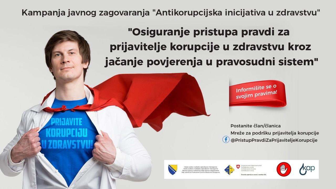 U Zenici radionica o važnosti zaštite i podrške osobama koje prijavljuju korupciju u zdravstvu u BiH