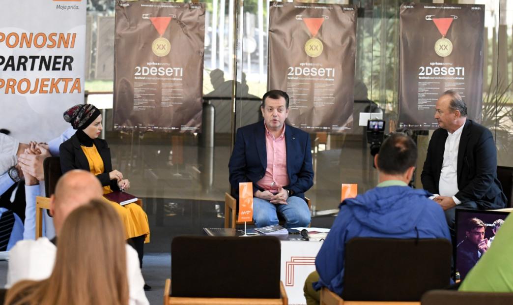 XX festival bh. drame počinje u nedjelju