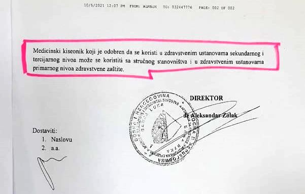 Agencija Kisik Dom Zdravlja