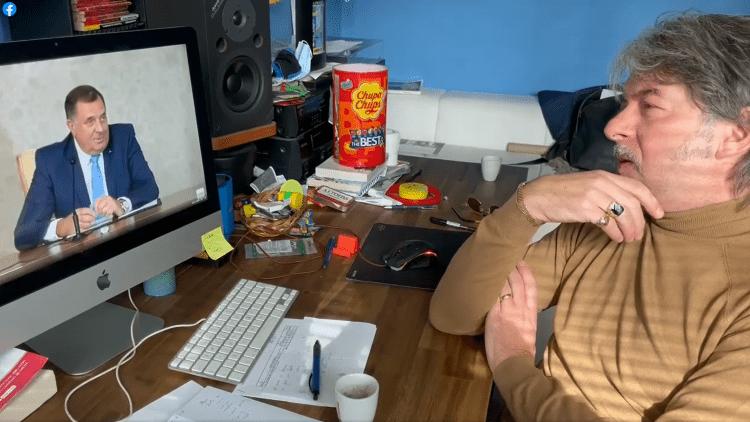 Magnifico gleda i ne vjeruje: Dodik pjesmu iz 2010. predstavio kao staru ratnu (VIDEO)