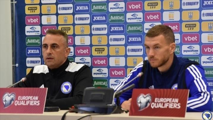Petev i Džeko uoči utakmice protiv Ukrajine: Zajedništvo je naš glavni adut